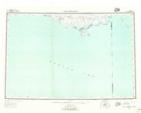Topo map Cape Mendenhall Alaska