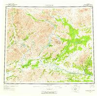 Topo map Chandalar Alaska