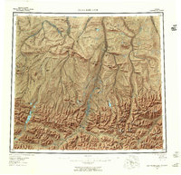 Topo map Chandler Lake Alaska