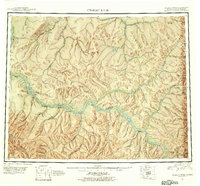 Topo map Charley River Alaska