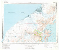 Topo map Chignik Alaska