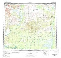 Topo map Christian Alaska