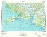 Alaska Topo Map Cordova