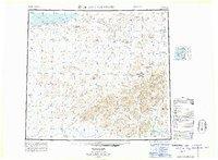 Topo map De Long Mountains Alaska