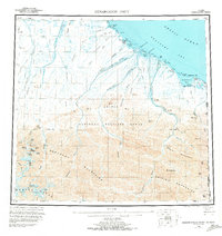Topo map Demarcation Point Alaska