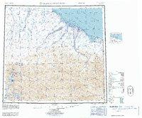 Topo map Demarcation Point Alaska