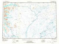 Topo map Dillingham Alaska