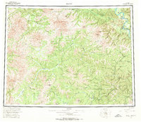 Topo map Eagle Alaska