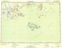 Topo map False Pass Alaska