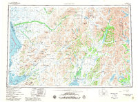 Topo map Goodnews Bay Alaska