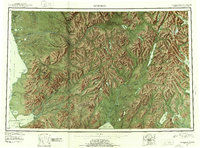 Topo map Goodnews Alaska