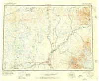 Topo map Gulkana Alaska