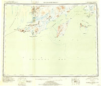 Topo map Hagemeister Island Alaska