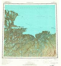 Topo map Harrison Bay Alaska