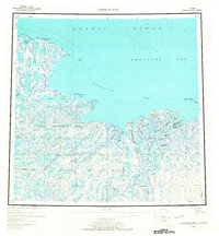 Topo map Harrison Bay Alaska