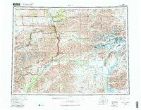 Topo map Healy Alaska
