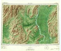 Alaska Topo Map Holy Cross