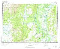 Topo map Holy Cross Alaska