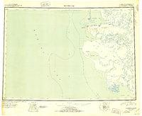 Topo map Hooper Bay Alaska