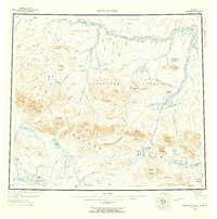 Topo map Howard Pass Alaska