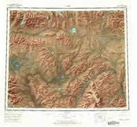 Topo map Hughes Alaska