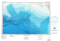 Topo map Icy Bay Alaska