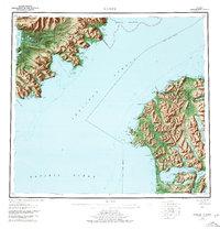 Topo map Karluk Alaska