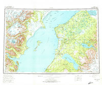 Topo map Kenai Alaska