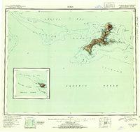 Topo map Kiska Alaska