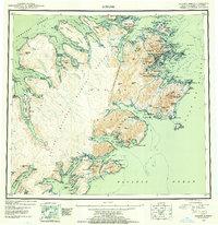 Alaska Topo Map Kodiak