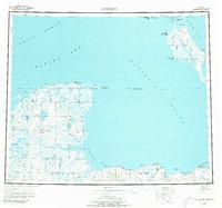 Topo map Kotzebue Alaska