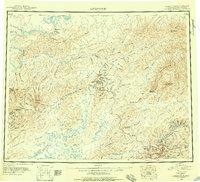 Topo map Livengood Alaska