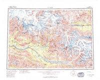 Topo map McCarthy Alaska