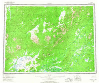 Topo map Medfra Alaska