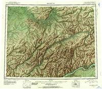 Topo map Melozitna Alaska