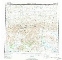 Topo map Misheguk Mountain Alaska