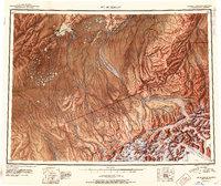 Topo map Mount McKinley Alaska