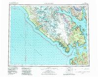 Topo map Mt Fairweather Alaska