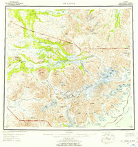 Topo map Mt Katmai Alaska
