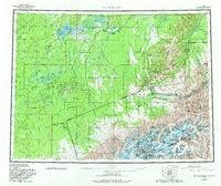 Topo map Mt McKinley Alaska
