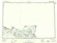 Topo map Mt Saint Elias Alaska