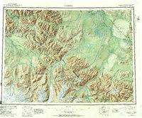 Topo map Nabesna Alaska