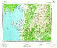 Topo map Norton Bay Alaska