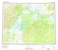 Topo map Nulato Alaska