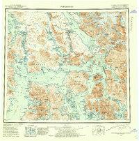 Topo map Petersburg Alaska