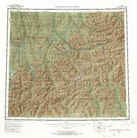 Topo map Philip Smith Mountains Alaska