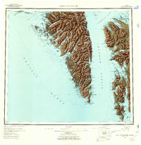 Topo map Port Alexander Alaska