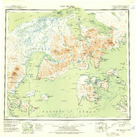 Topo map Port Moller Alaska