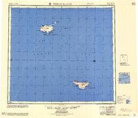 Topo map Pribilof Islands Alaska