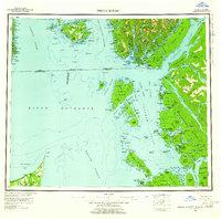 Topo map Prince Rupert Alaska
